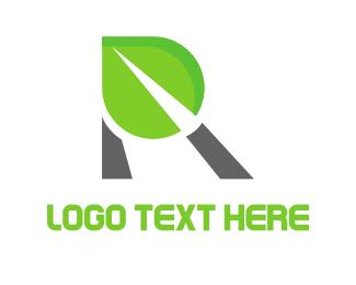 Letter R - Organic Letter R logo design