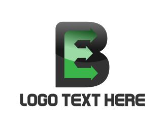 Text - E & B logo design