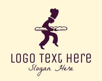 Baker - Baker Silhouette logo design