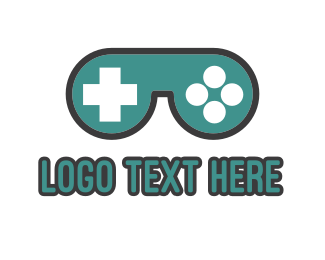 Esport - Gaming Goggles logo design