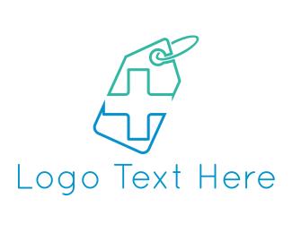 Label - Pharmacy Tag logo design