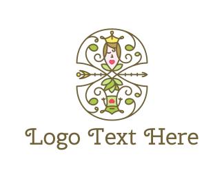 Fairy Tale - Princess & Frog logo design