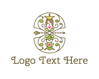 Frog - Princess & Frog logo design
