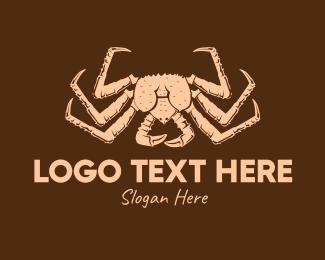Crab - Vintage Crab logo design
