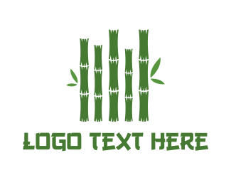 Businessman - Bamboo Stalks logo design