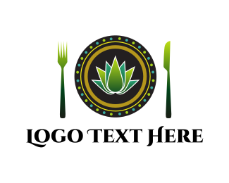 Vegan Dish logo design