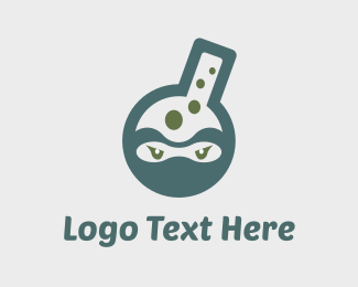 Bubbles - Ninja Lab logo design