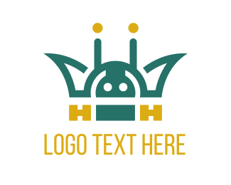 Code - Mobile App King logo design
