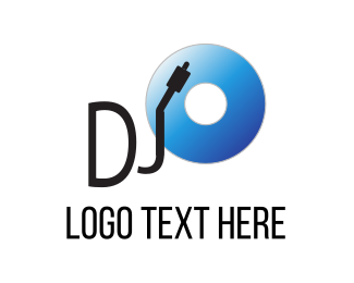 Vinyl - Disc Jockey logo design