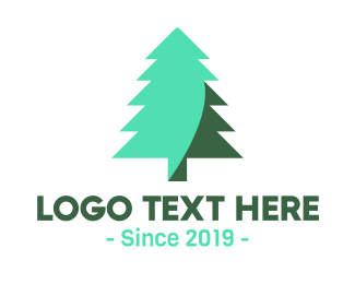 Pine - Pine Tree logo design