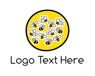 Bumblebee - Honey Farm logo design