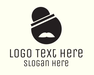 Top Hat - Circle Sir logo design