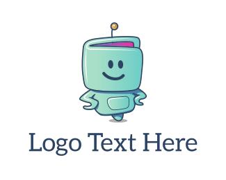 Chatbot - Robo Smile logo design