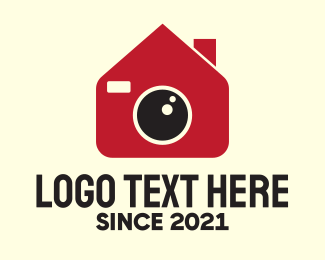 Electronic Device - Camera House logo design