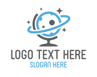 Worldwide - Global Sky logo design