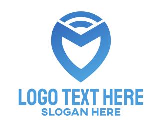 Spot - Broadcast Location logo design