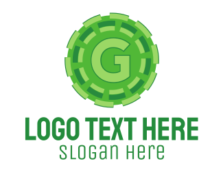 Business - Green G logo design