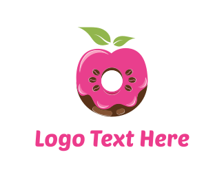 Cake Shop - Donut & Coffee logo design