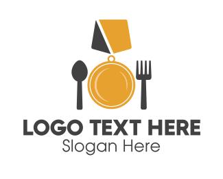 Medal - Food Medal logo design