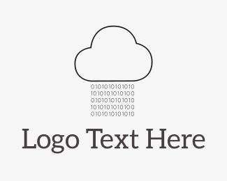 Code - Code Rain logo design