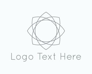 Pure - Lotus Flower logo design