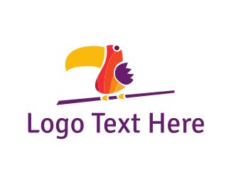 Toucan - Colorful Toucan logo design