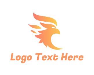 Clan - Fire Bird logo design