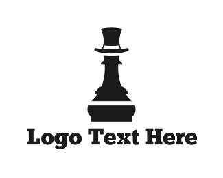 Chess - Fashion Pawn  logo design