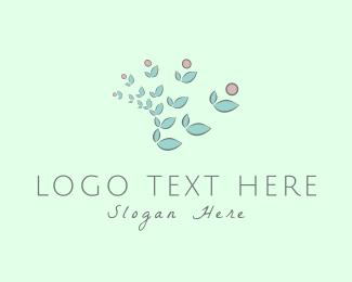 Decoration - Orchid Flowers logo design