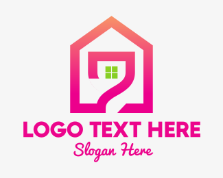 Pink - Pink House logo design