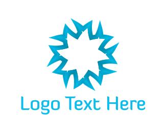 Freezer - Blue Star logo design