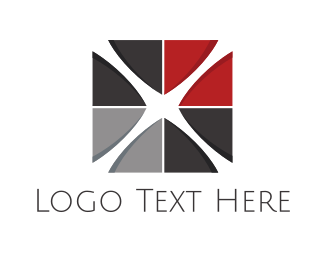 Interior Designer - Cross Tile logo design