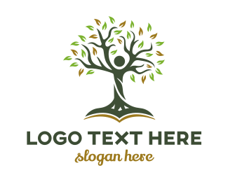 Wise - Education Tree logo design