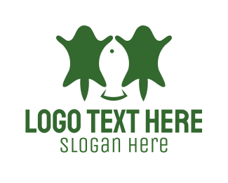 Fish - Fishing & Hunting logo design