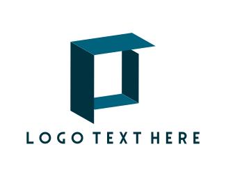 Container - Blue Box  logo design