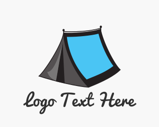 Tent - Phototent logo design