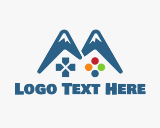 Xbox - Gaming Mountain logo design