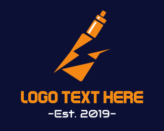 Tobacco - Electronic Cigarette logo design