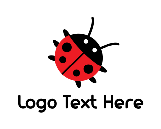 Beetle - Cute Bug logo design