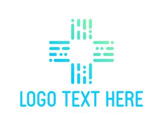 Physician - Medical Blue Cross logo design
