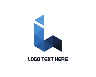 Consulting - Blue Origami logo design