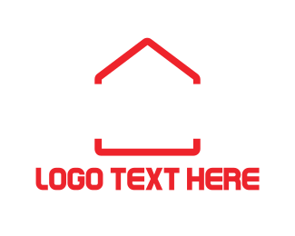 Estate - Red House logo design