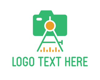 Engineer - Total Station logo design