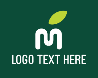 """Letter M Leaf"" by Nimbus"