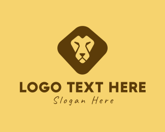 """Lion Face"" by Logorama"