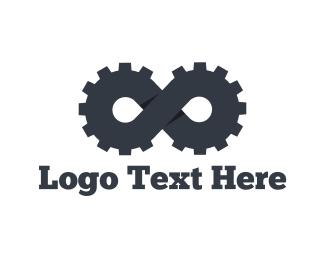 Gear - Infinity Gear  logo design