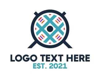 Hashtag - Blue Fan logo design