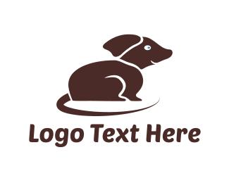 Tail - Brown Dog logo design