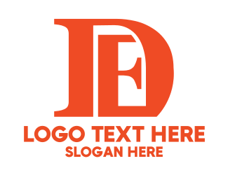Consultancy - Orange DE  logo design