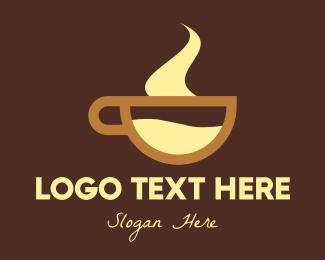 Aroma - Chocolate Beverage logo design